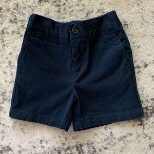 Polo Ralph Lauren navy blue shorts baby boy